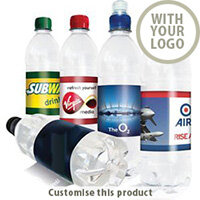 500ml Branded Bottled Water 704107383 - Customise with your brand, logo or promo text