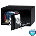 Sentry X031 Security Home Safe Key Lock 4mm Door 2mm Walls 9.9 Litre 7.5kg W290xD264xH167mm
