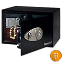 Sentry Black Entry-Level Electronic Lock Safe