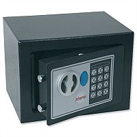 Phoenix SS0721E Compact Home Office Security Safe 4L With Electronic Lock Black