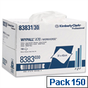 Wypall X70 Heavy Duty Cleaning Wipers Box of 150
