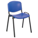 Blue Stacking Chair Polypropene Trexus