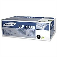 Genuine Samsung CLP-K660B High Yield Black Laser Toner