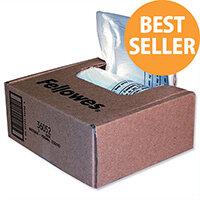 Fellowes Shredder Bags 23-28 Litre Pack 100