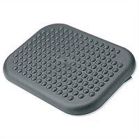 Adjustable Massaging Comfort Footrest Charcoal