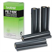 Brother PC74 RF Fax Ribbon Black for T74 76 Pack 4