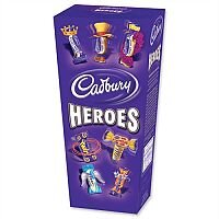 Cadbury Heroes Miniature Chocolates Selection Box 185g