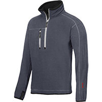 Snickers 8013 A.I.S. Half Zip Fleece Steel Grey Size XS WW4
