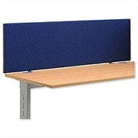 Trexus Over Desk Screen 1000x450mm Royal Ref SP809311 809311