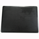 Mat Anti-fatigue Rubber Textured Anti-slip Bevelled-edge 610x910mm Bubble Pattern Doortex