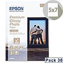 "Epson 5x7"" Glossy Photo Paper Premium (Pack of 30)"