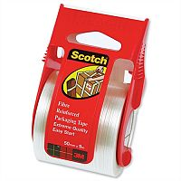 Scotch Packaging Tape Extreme Quality in Dispenser 50mm x 9m Silver
