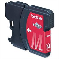 Brother LC-1100HYM Magenta High Yield Ink Cartridge LC1100HY-M