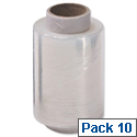 Stretch Packaging Film Wrap Refill Rolls for Mini Dispenser 100mmx150m 97151015 Pack 10
