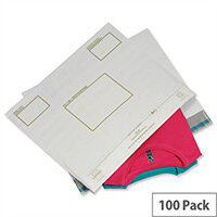 Ampac Strong Polythene Protective Envelopes White 440x320mm Pack of 100