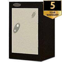 1 Door Small Locker Black White Trexus