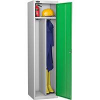Probe Clean Dirty Locker W460xD460xH1780 Silver Body Green Door