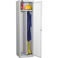 Probe Clean Dirty Locker W460xD460xH1780 Silver Body White Door