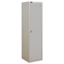 Uniform Locker Silver Body Silver Doors Probe