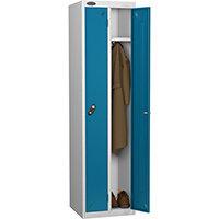 Twin Locker Silver Body Blue Door Probe