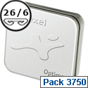 Rexel Optima 56 Staples 26/6mm Tin Pack 3750