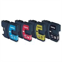 Brother LC980VALBP 4 Colour Value Pack Ink Cartridges