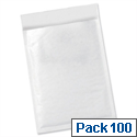 5 Star Office Bubble Lined Bags Size 1 170x245mm White Pack of 100
