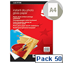 5 Star A4 Glossy Photo Inkjet Paper 175gsm (Pack of 50)