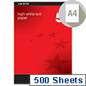 A4 100gsm High White Laid Finish Premium Paper 500 Sheets 5 Star