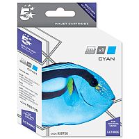 Brother LC-1000C Compatible Cyan Ink Cartridge 5 Star LC1000C