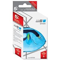 Canon CLI-8 C ( 0621B001 Equivalent ) Cyan Ink Cartridge Compatible/Remanufactured by 5 Star