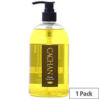 Cachan Liquid Hand Soap Handwash Lemon & Ginger Fragrance 500ml (Pack 1)