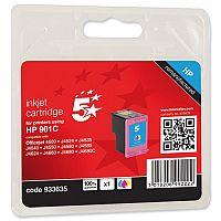 HP Compatible 901 Colour Inkjet Cartridge CC656AE 5 Star