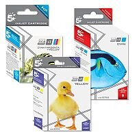 Brother LC1280XLY Compatible Yellow High Yield Inkjet Cartridge 5 Star