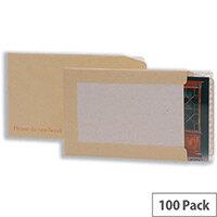 5 Star Office Envelopes Board-backed C3 Peel & Seal (Pack of 100)