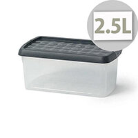 5 Star Elite Plastic Clip Box 2.5 Litre