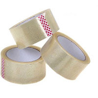 5 Star Value Parcel Tape 48mmx66m Clear