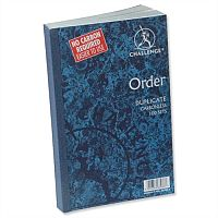 Challenge Duplicate Order Book Carbonless 210x130mm Pack 5