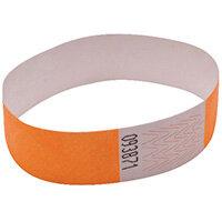 Announce Wrist Bands 19mm Orange AA01836