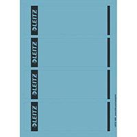 Leitz PC Printable Spine Labels for Standard Lever Arch Files Laser Short Wide Blue 25 A4 Sheets - 4 Labels per Sheet 100 Labels