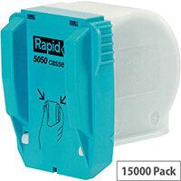 Rapid R5050 Staple Cassette 5M Pack of 3