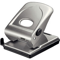 Rapid Large Metal Hole Punch FMC40 40 Sheets Silver