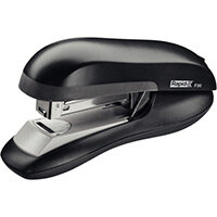 Rapid Desktop Flat Clinch Halfstrip Stapler F30 Black