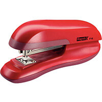 Rapid Desktop Halfstrip Stapler F16 30 Sheets Red