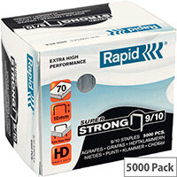 Rapid SuperStrong Staples 9/10mm 5M G