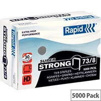 Rapid SuperStrong Staples 73/8mm 5M G