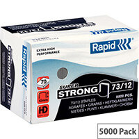Rapid SuperStrong Staples 73/12mm 5M G