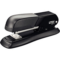 Rapid Desktop Metal Halfstrip Stapler FM12 Blister Pack Black