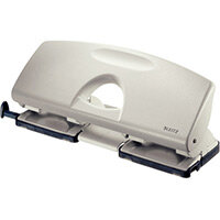 Leitz 4-Hole Punch 2.5mm Grey