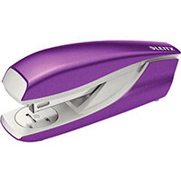 Leitz New NeXXt WOW Metal Office Stapler Blister Pk 30 Sheet Capacity Purple